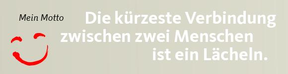 Daniel Hagemeiers Motto: Die kürzeste Verbindung zwischen zwei Menschen ist ein Lächeln